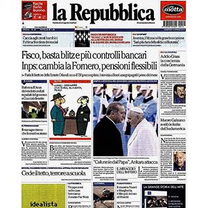 La Repubblica 15 Aprile 2015