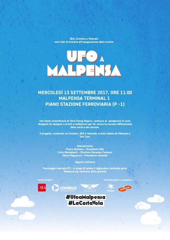 U.F.O. a Malpensa