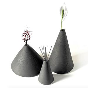 Vulcano - vaso monofiore